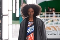 فستان قصير ملون من Louis Vuitton