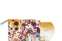 حقيبة مكياج مطبعة بالورود