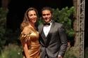 آسر ياسين وزوجته كنزي عبد الله