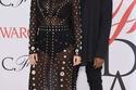 Kim Kardashian wearing custom Proenza Schouler Sheer gown