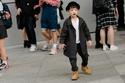 Kids Street Style in Seoul Fashion Week