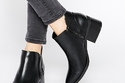 Black Ankle boot - Spring
