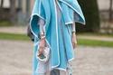 عود.كوم يتذكر صيحة الBlanket coat 2015