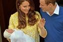 كيت ميدلتون في الحمل الثاني في الأميرة شارلوت