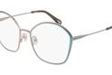 صورة جانبية لنظارة Chloé الطبية ذات اللون الأزرق