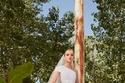فستان زفاف بفتحة جانبية تصل لأعلى الفخذ من إيلي صعب