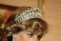 تاج كامبريدج الذي ارتدته الأميرة ديانا