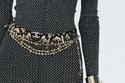 حزام بسلاسل عريضة من Chanel