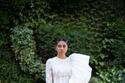 فستان زفاف أبيض قصير