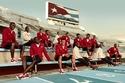 شاهدي بدل الرياضة الخاصة بالأولمبياد الناتجة من تعاون Christian Louboutin X SportyHenri.com