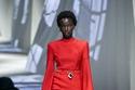 فستان أحمر أنيق من Fendi