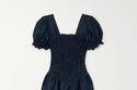 فستان Belle من الكتان بتصميم مبطن