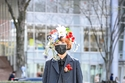 البليزر جزء من أزياء شارع أسبوع الموضة في طوكيو