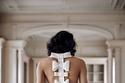 الفستان من الخلف