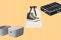 14 فكرة لتخزين أحذيتك بمساحة أقل
