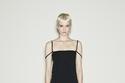 فستان أسود قصير من Dsquared2