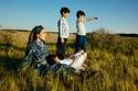 Dana Ghareeb and her adorable kids