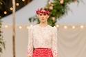 تطريزات من الورود لربيع 2021 من Chanel