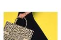 حقيبة بطباعة الحيوانات من  Dior