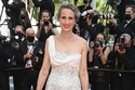 Andie MacDowell wore a white Atelier Versace dress