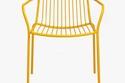 Pedrali yellow armchair