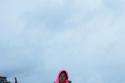 فستان بلون فوشيا من Stella McCartney