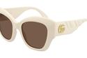 نظارات بإطارات سميكة من Gucci