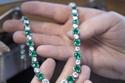 اللون الأخضر أنيق في العقد