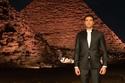 أحمد عز في فيلم عن الآثار المصرية ببدلة من ORANGESQUARE