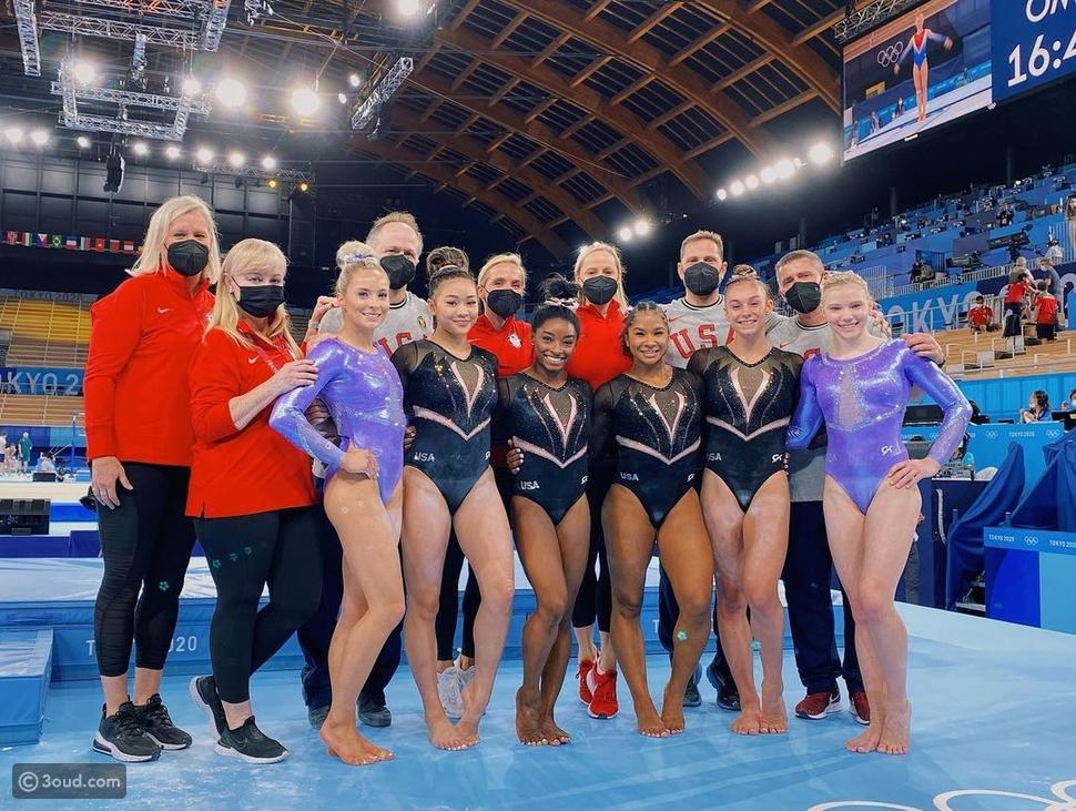 فريق الجمباز الولايات المتحدة الأمريكية1