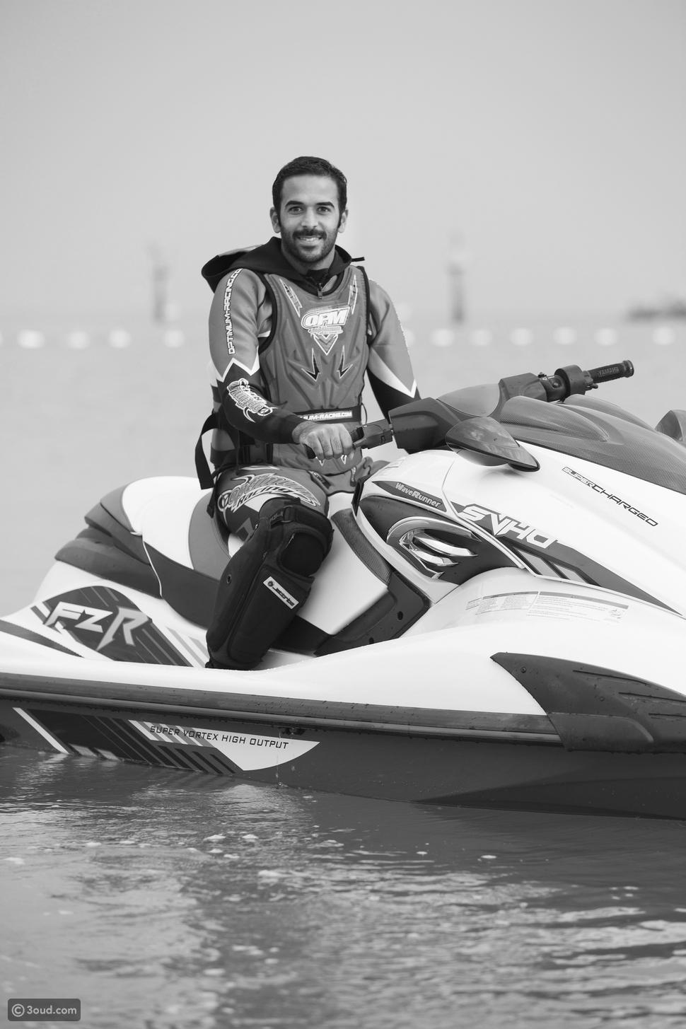 ساعة مع بطل العالم في رياضة الجت سكي محمد بوربيع