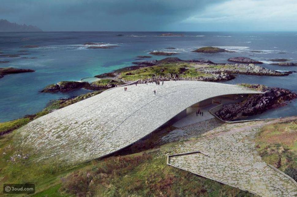 """The Whale""... معلم سياحي جديد في النرويج لا مثيل له"