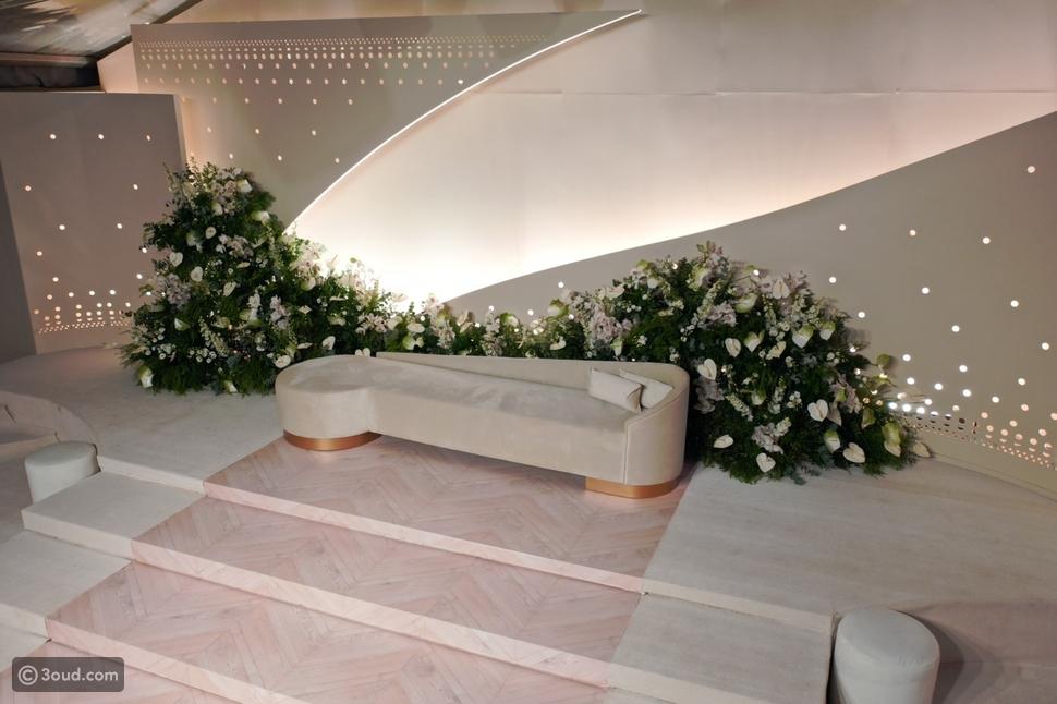 فابرجيه يضيف اللمسات السحرية لحفل زفاف حصة السبيعي
