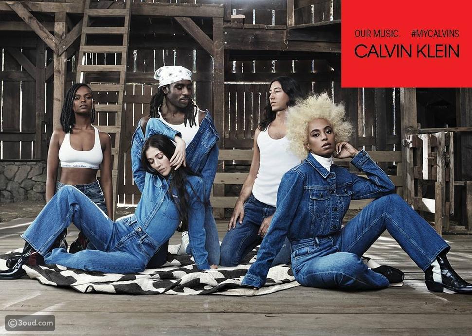 حملة إعلانية جديدة لماركة Calvin Klein