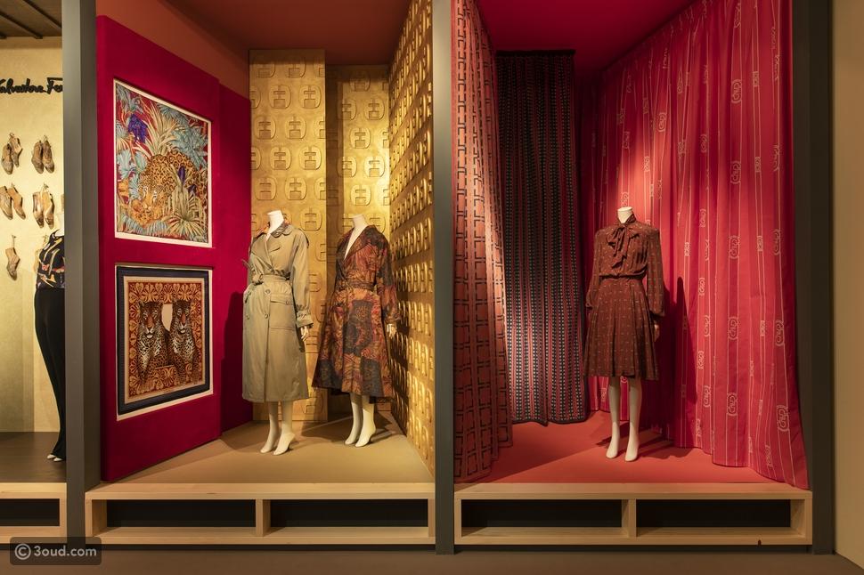 SILK هو عنوان مشروع المعرض الجديد لمتحف Salvatore Ferragamo