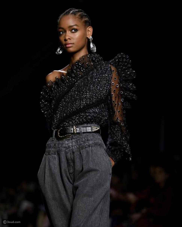 عرض أزياء ألبيرتا فيريتي ضمن أسبوع ميلانو للموضة