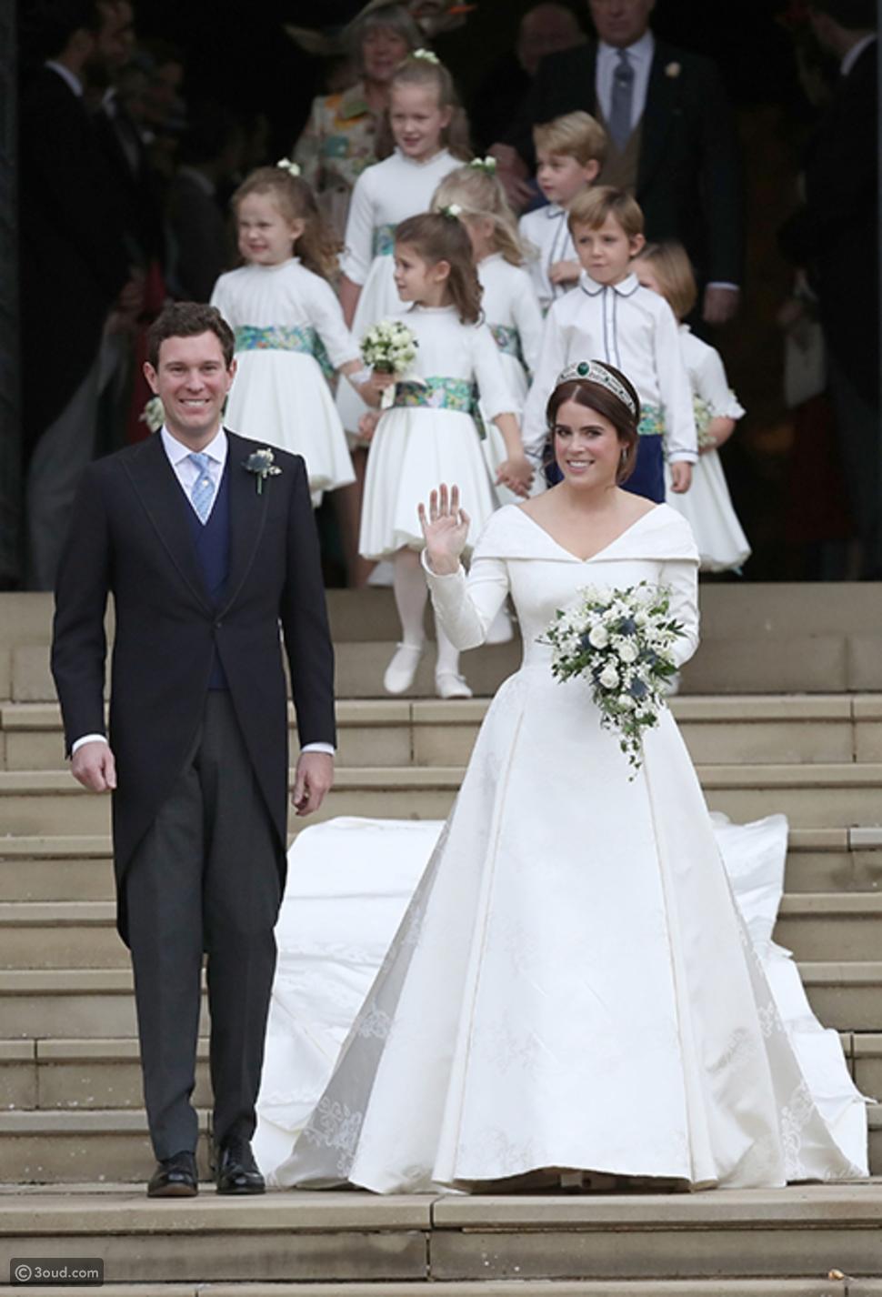 أغلى فساتين زفاف ملكية