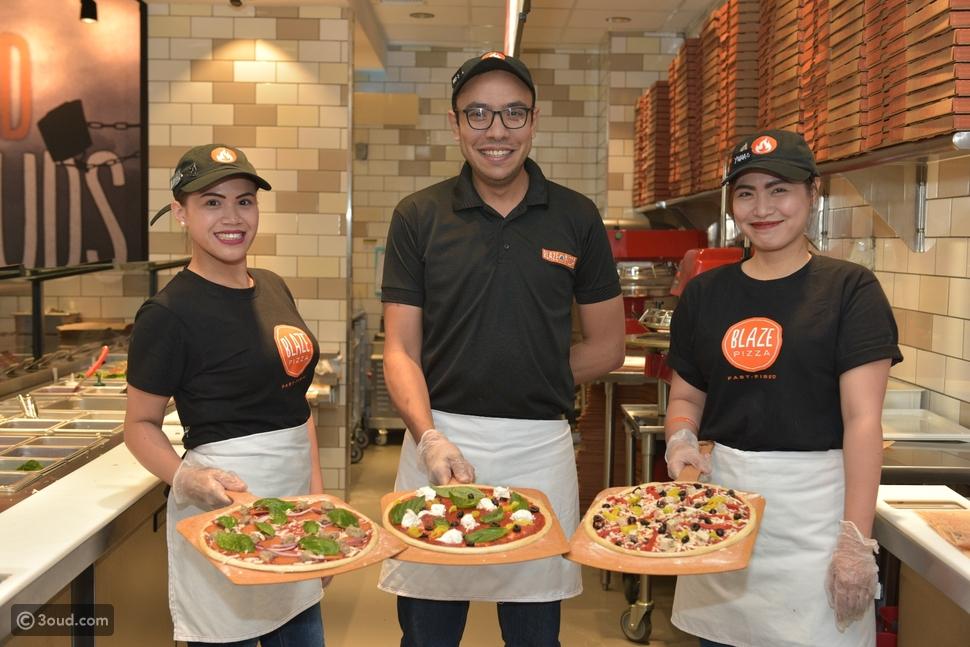 """""""بليز بيتزا"""" يفتتح أول فرع له في الشرق الأوسط في غراند بلازا بالأفنيوز"""