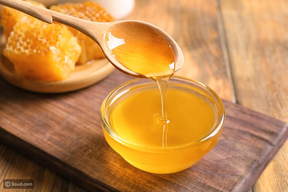 عصير البصل والعسل