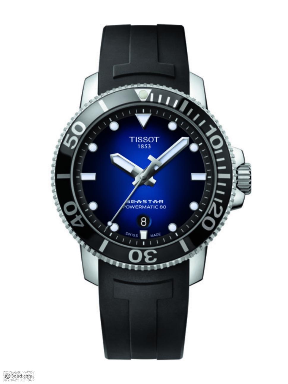 ساعة أنيقة من Tissot لعشاق الرياضات المائية