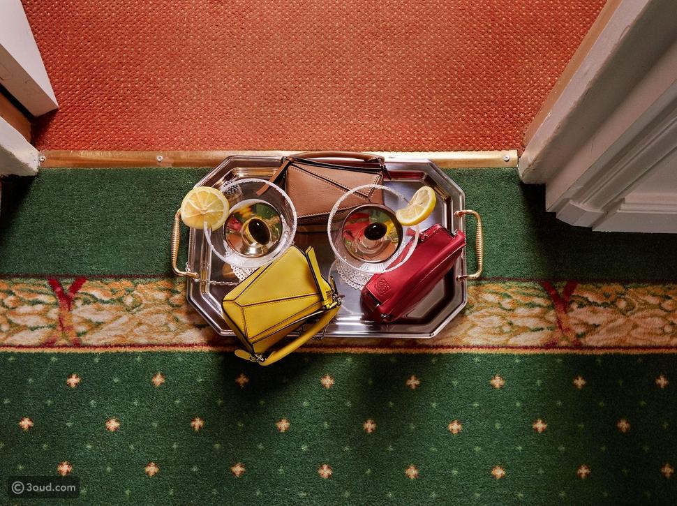 Loewe تطلق حقيبة جديدة احتفالاً بيوم الحب تحت عنوان ذا نانو بازل