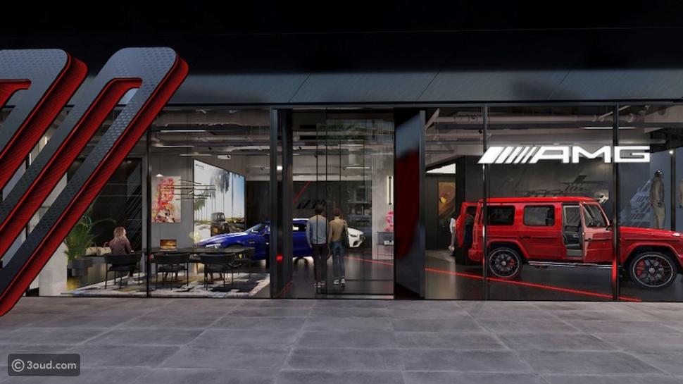 """دبي تشهد الانطلاقة الأولى: مجموعة قرقاش و""""Mercedes-AMG"""""""