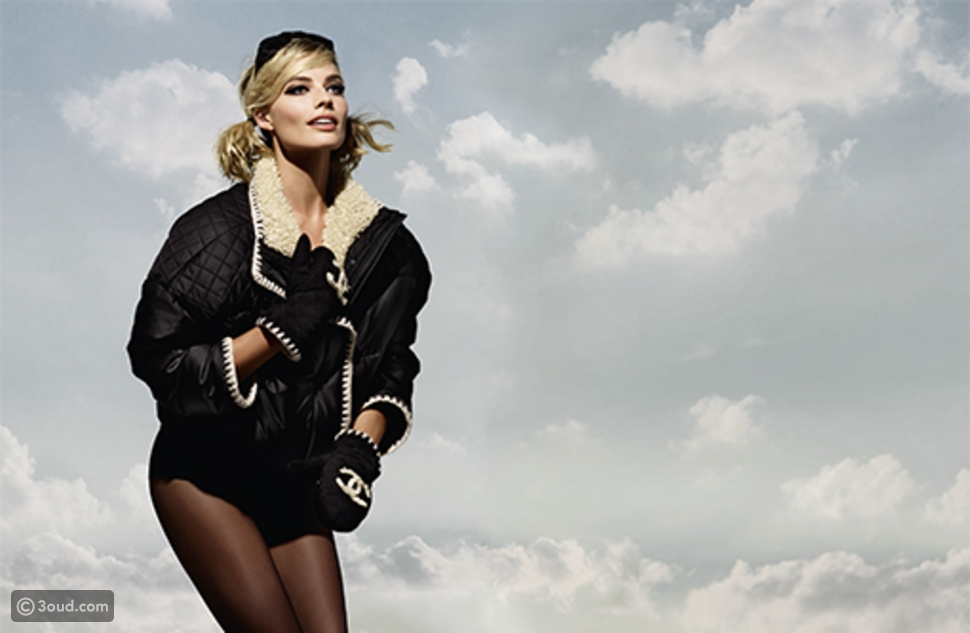 Margot Robbie   الوجه الاعلامي لمجموعة Coco Neige  الأولى من شانيل