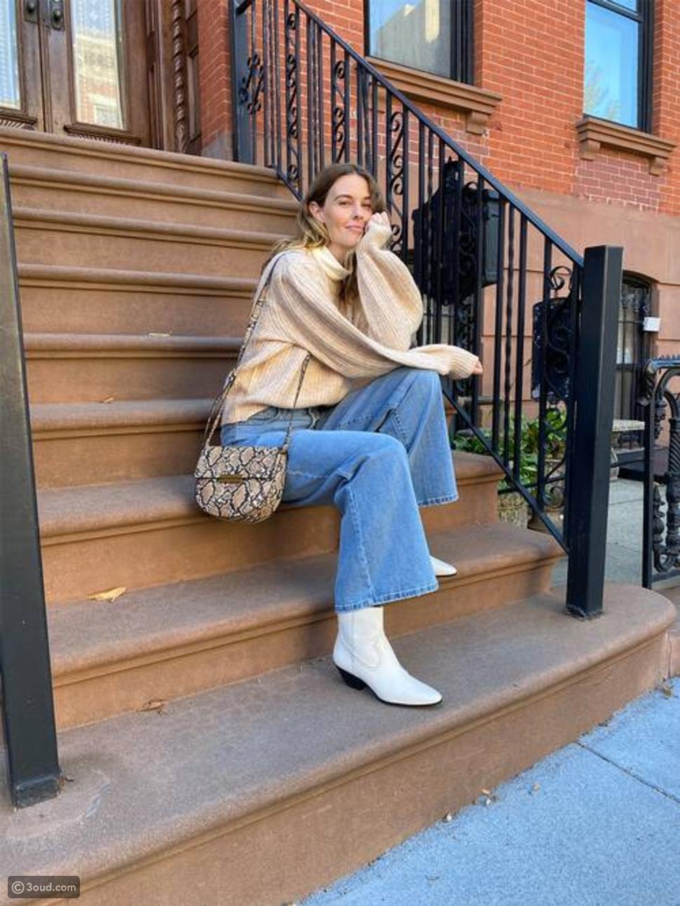 تنسيقات لبناطيل الجينز مع الأحذية لخريف 2020