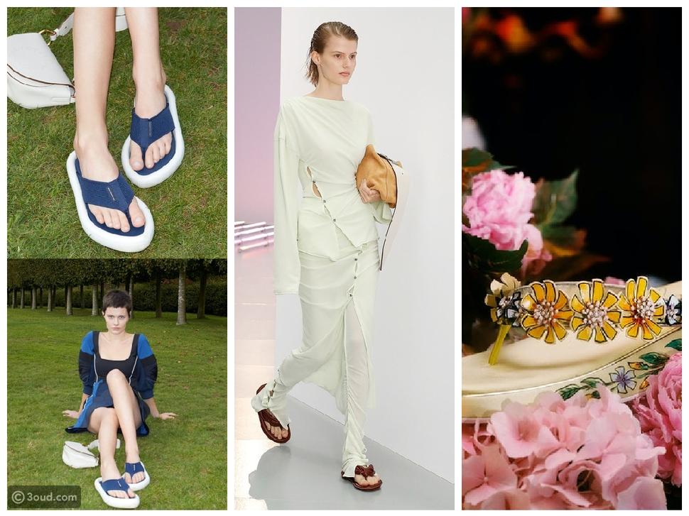 10 صيحات للأحذية من مدارج ربيع 2021 سيرتديها الجميع