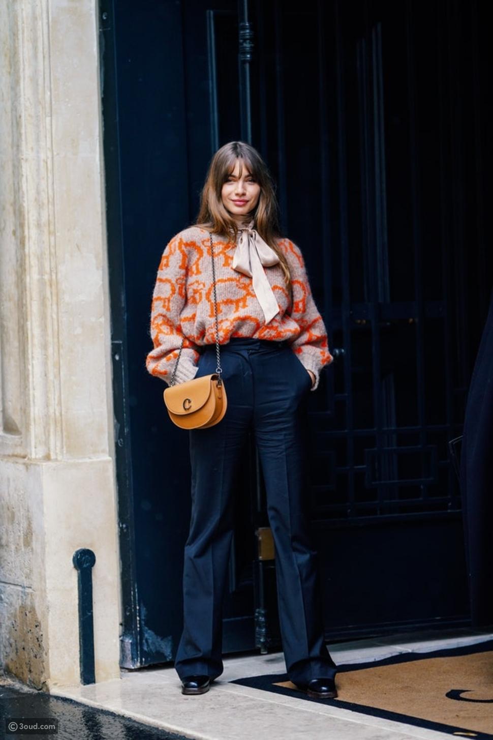 7 طرق لارتداء الوشاح في الخريف والشتاء