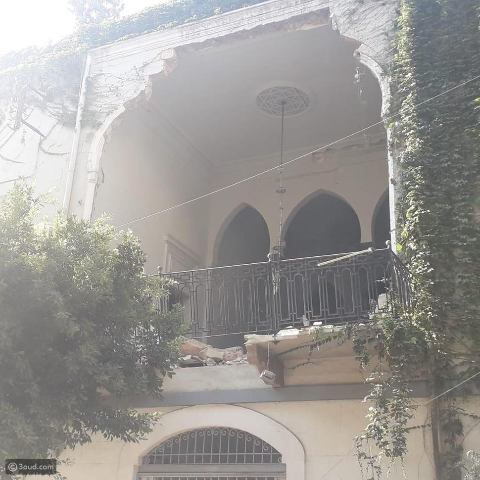 خسائر فادحة في منزل إيلي صعب بعد انفجار مرفأ بيروت