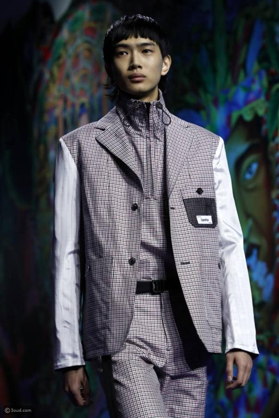 هادي سليمان يختتم أسبوع الموضة الرجالية في باريس