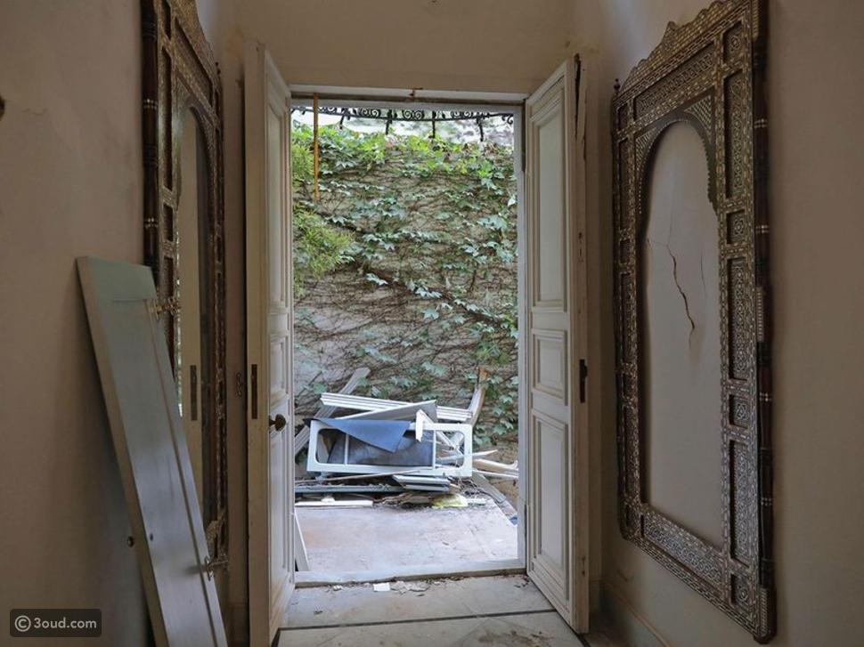 إيلي صعب يبدأ العمل في ترميم منزله بعد تفجيرات مرفأ بيروت