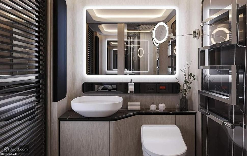 الحمام في اليخت